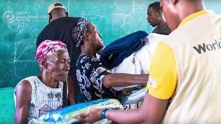 Hurrikan Matthew wütet auf Haiti