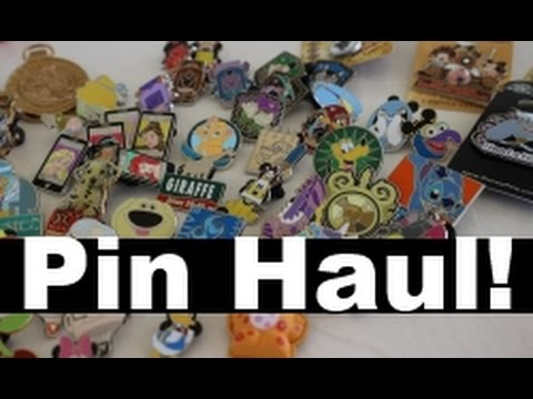 Cast Store & Downtown Disney PIN HAUL