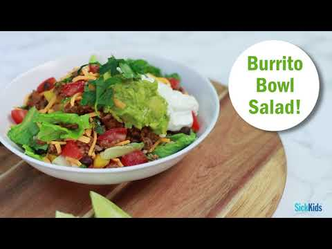 Protein-Packed Yams Burrito Bowl