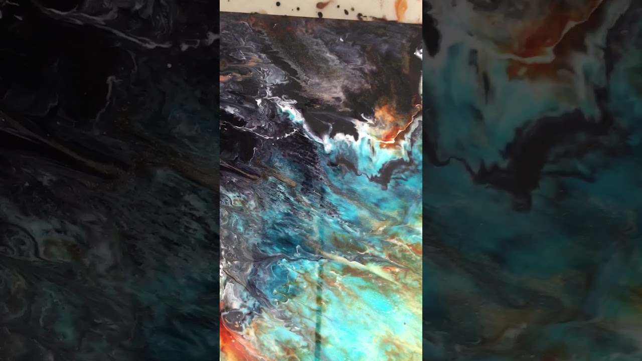 Alcohol Ink And Resin YouTube - Coloring resin with alcohol ink