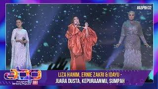 Download lagu Liza Hanim, Ernie Zakri & Idayu - Juara Dusta, Kepuraanmu, Sumpah | #ABPBH32