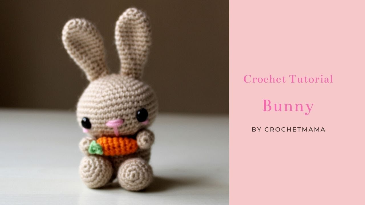 Small Crochet Easter Bunny Video Tutorial | 720x1280