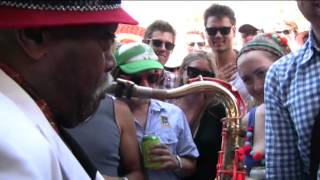 Big Jay McNeely - live at The Meredith Music Festival 2012