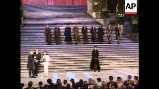 Italy - Roman Fashion Extravaganza/Film Centenary