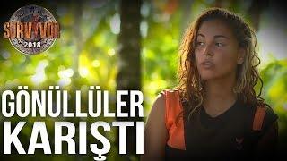 Gönüllüler adası karıştı! Berna, Elif ve Ogeday...  45. Bölüm   Survivor 2017