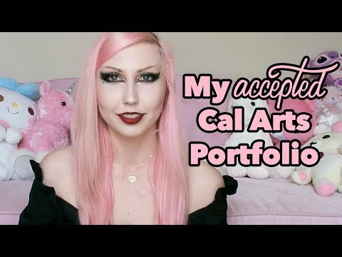 My ACCEPTED Cal Arts Portfolio | Film + Video MFA