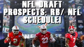 NFL Top 2020 Draft Prospects  RB | Schedule Release Date!