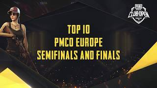 [TOP 10] PMCO Europe Semi Finals & Finals | Spring Split | PUBG MOBILE CLUB OPEN 2020