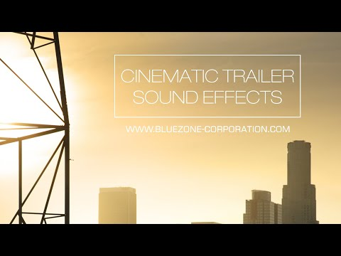 Cinematic Trailer Sound Effects - Sample Pack for Download