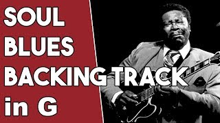 Soul Blues Backing Track in G