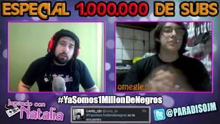 ESPECIAL MILLÓN DE SUSCRIPTORES | Omegle | Jugando Con Natalia