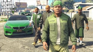 What Happens If FRANKLIN, LAMAR, and THE FAMILIES Go To War With The BALLERS in GTA 5?