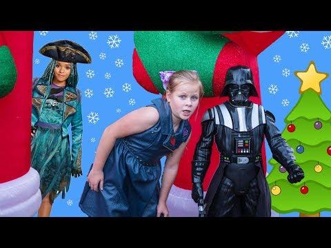 ASSISTANT Huint for Descendants + Paw Patrol + Disney Princess Funny Kids Video