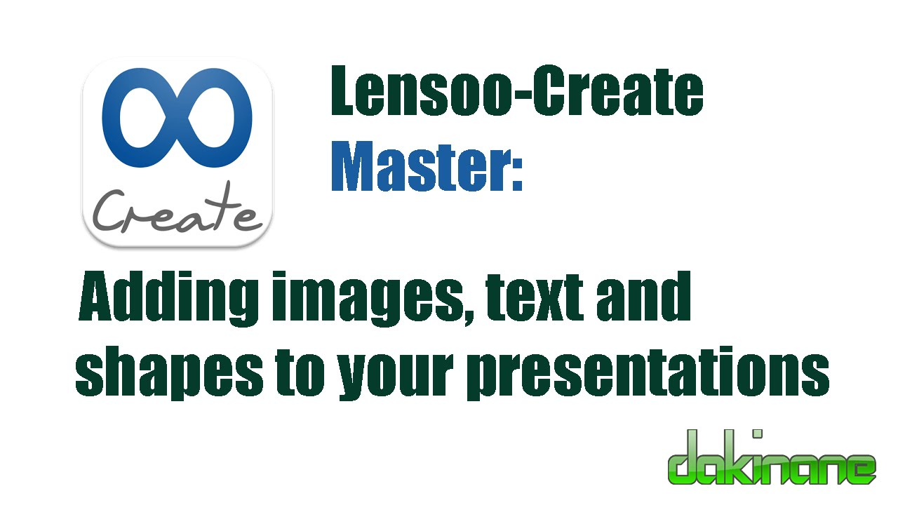 Tutorial lensoo create lensoo create.