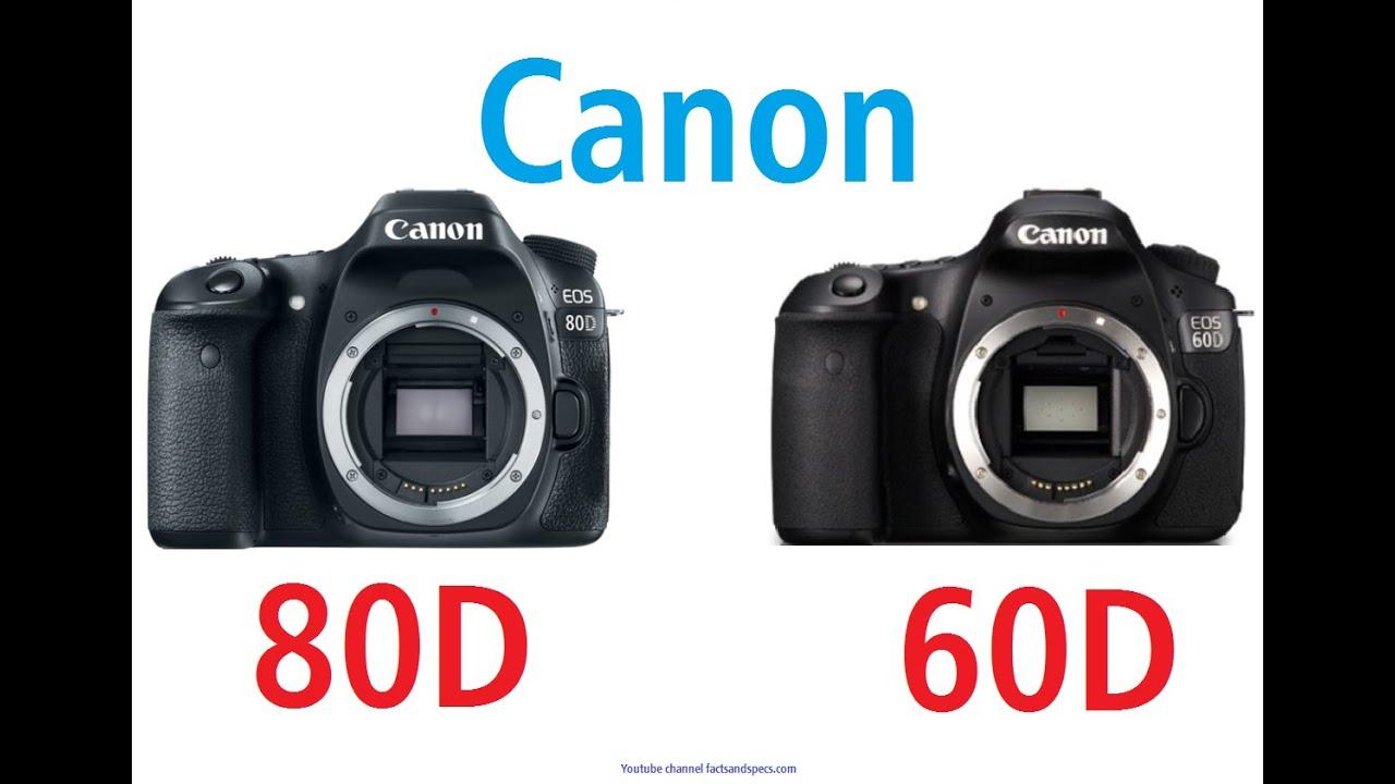 canon eos 80d vs canon eos 60d youtube. Black Bedroom Furniture Sets. Home Design Ideas
