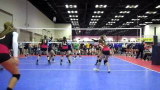 Marisa Aiello Middle Blocker Indianapolis Volleyball Qualifier