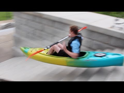 EXTREME URBAN KAYAKING