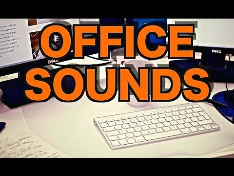 10 Hours of Ambient Office Sounds |  Background Noise and Office Ambience