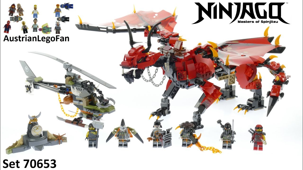 Lego Ninjago Build 70653 Speed Firstbourne Review uPikZXOT