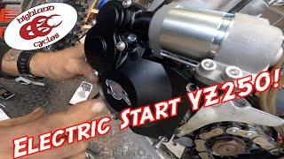 Installing the Panthera Motorsports Electric Start Kit On a YZ250