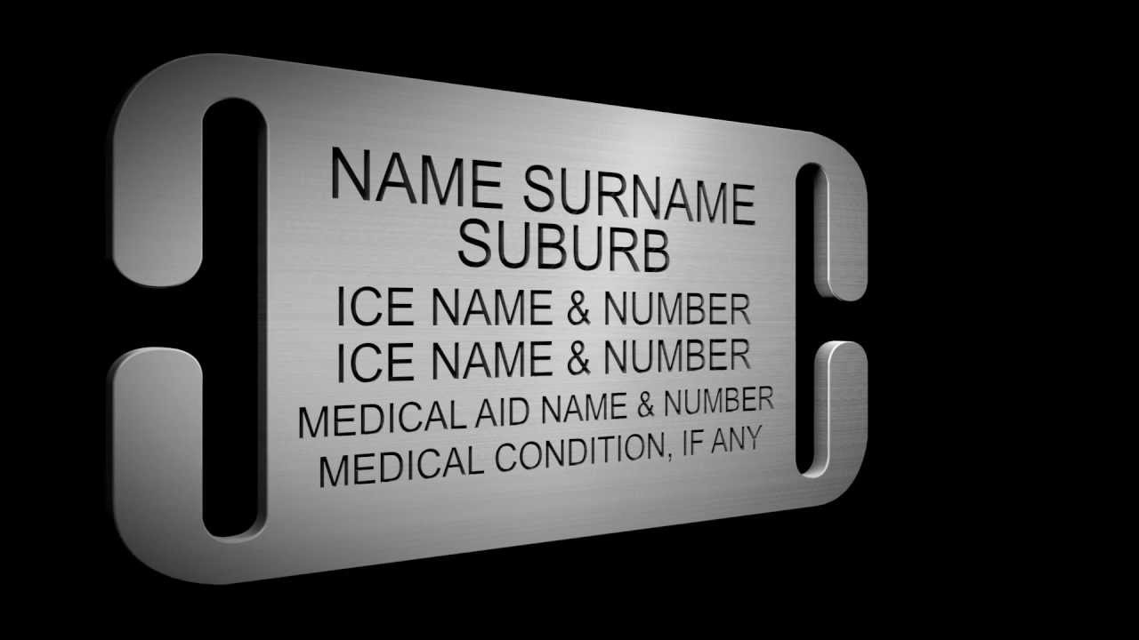 Ice Id Medical Identification Bracelets Youtube