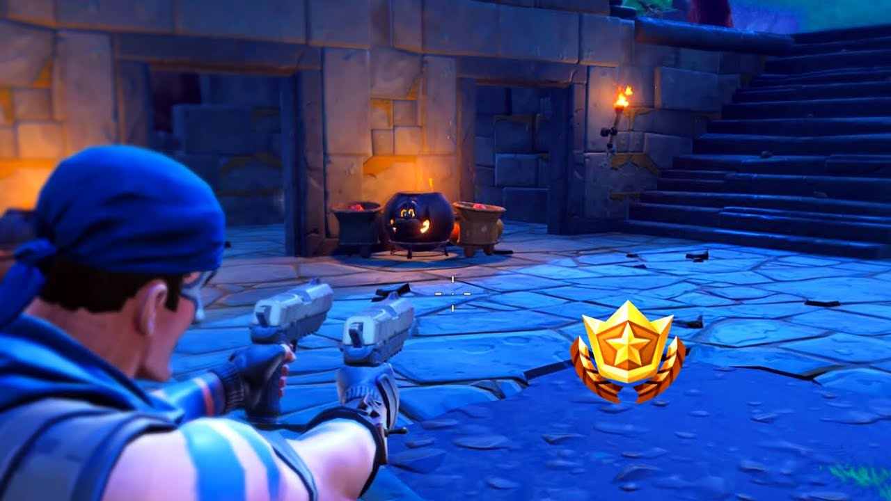 Fortnite Week 8 Secret Battle Star Week 8 Loading Screen Hidden