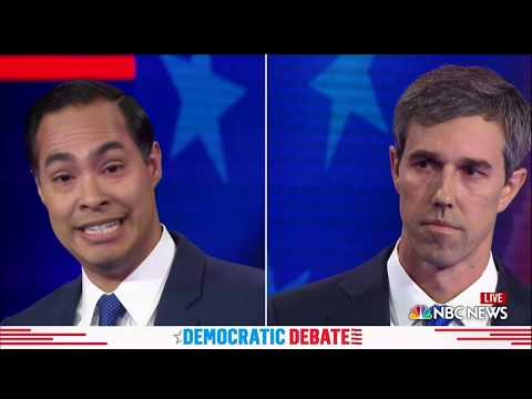 Beto O'Rourke answers in Spanish, spars with Julián Castro on immigration | 2019 Democratic Debates