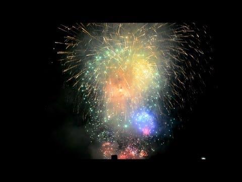 Fireworks 2013 - Swiss National Day 2013 - Fête Nationale Suisse - Fireworks On The National Day