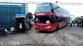 Green Line Double Decker Man Multi-Axle Bus Live in BD part-1
