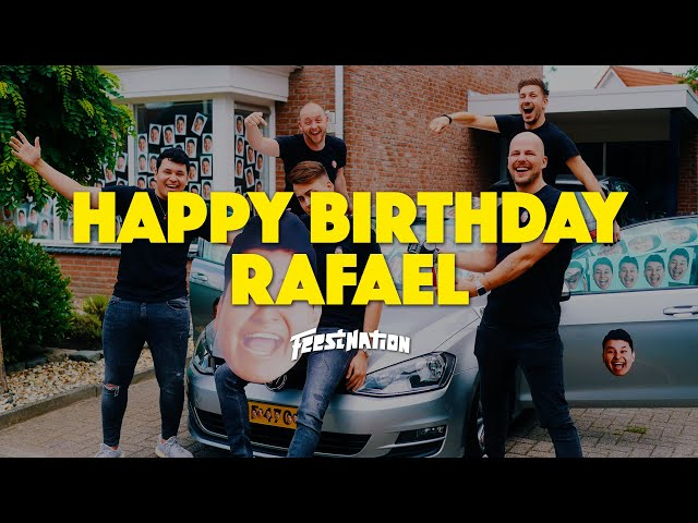 Happy Birthday Rafael #24 | FEESTNATION