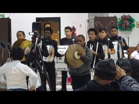 Lovejoy Middle School 7th grade drum line