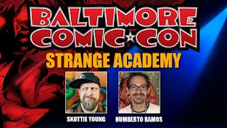 Strange Academy Panel at Baltimore Comic Con