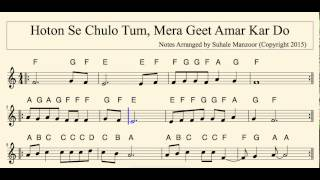 Hothon Se Chulo Tum Mera Geet Amar Kar Do (visit vibrasoft.com to download more videos)