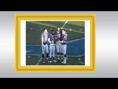 Assumption College Football Highlights 2015