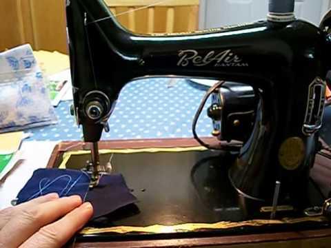 Bel Air Bantam Model 33 Sewing Machine