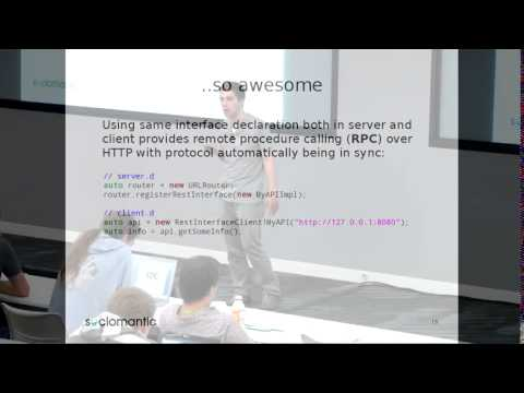DConf 2014: Declarative programming in D by Mihails Strasuns