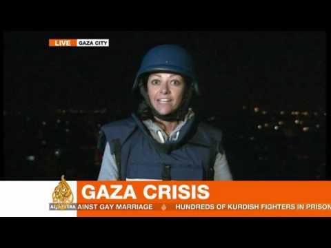 As it happened: Huge airstrike in Gaza