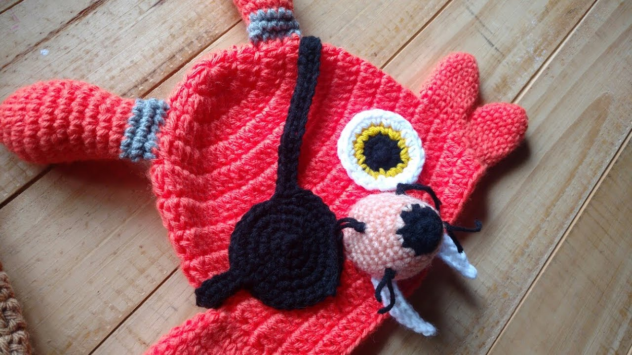 Amigurumi Pirate Foxy from Five Nights At Freddy's. I made him for ... | 720x1280