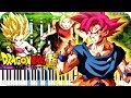 Dragon Ball Super - Fierce Battle against a Mighty Foe (All Out Battle) | Piano Tutorial