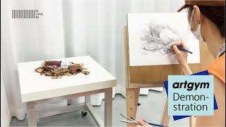 ochabi_「焼き芋のデッサン(4倍速)」artgym_2020