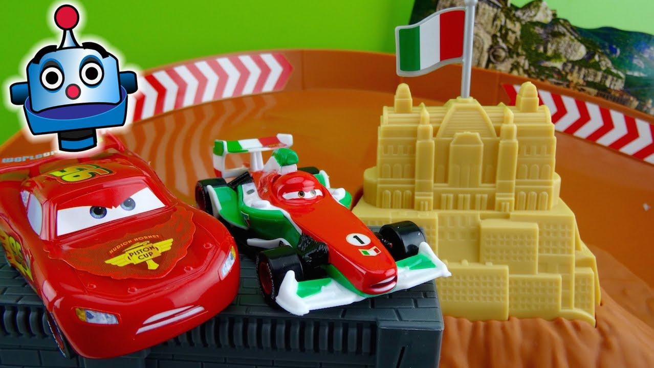 Cars carrera de rivales rivals race off juguetes de cars - Cars en juguetes ...