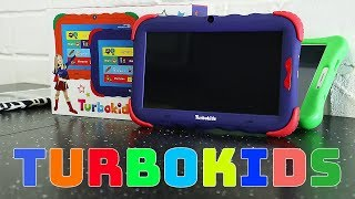Дитяче відео. Планшет для дітей від TurboKids. Розпакування та огляд