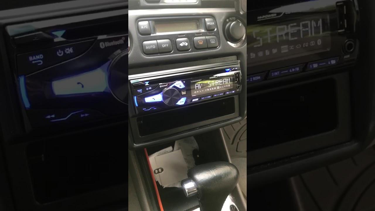 2000 Honda Accord EX-L V6 - XDM280BT Aftermarket Radio