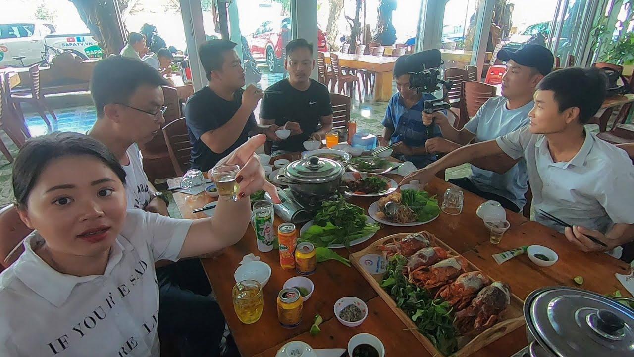 Lên Tây Nguyên ăn Tôm hùm Cá Thác Lác Gà nướng cơm lam đón a Hải Sapa TV ở Hồ Lak Daklak