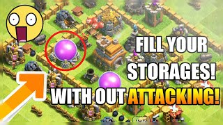 OMG! Get Millions of loot in Clash Of Clans in 1 minute!|Chief Zivox|How to get Free Loot?|coc|CZ|