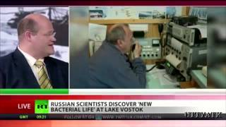 Unknown life form found in Antarctic lake, miles under the ice...