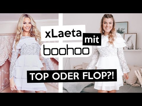 xLAETA x BOOHOO Kollektion – Top oder Flop?! Live Anprobe + EHRLICHE MEINUNG! | Kleinstadtcoco