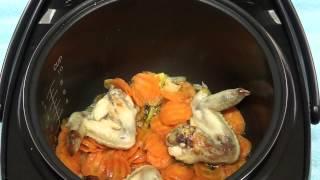 Как приготовить куриный суп с вермишелью в мультиварке REDMOND M70 Редмонд М70