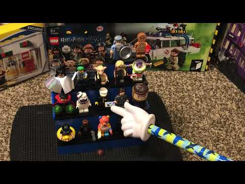 My LEGO top 20 minifigure review