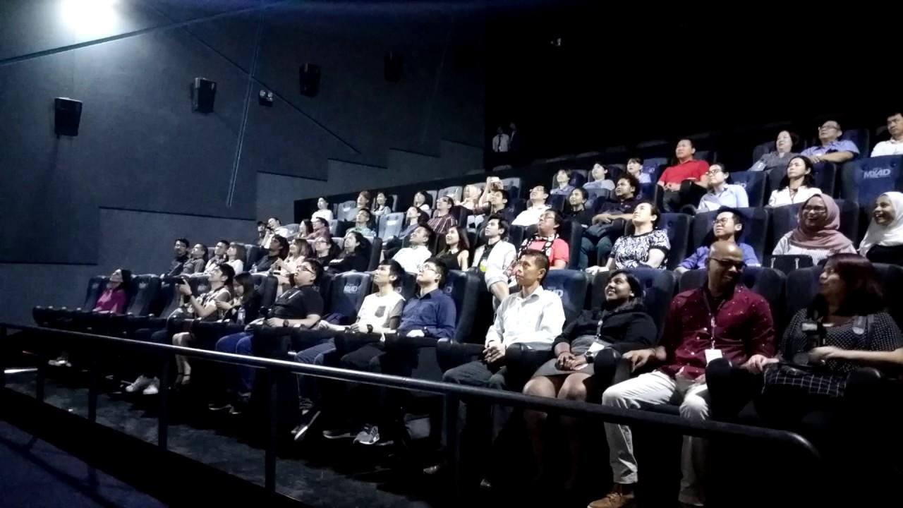 Mbo Cinemas Mx4d Hall Media Experience Youtube